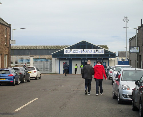 Entrance to Links Park, Montrose
