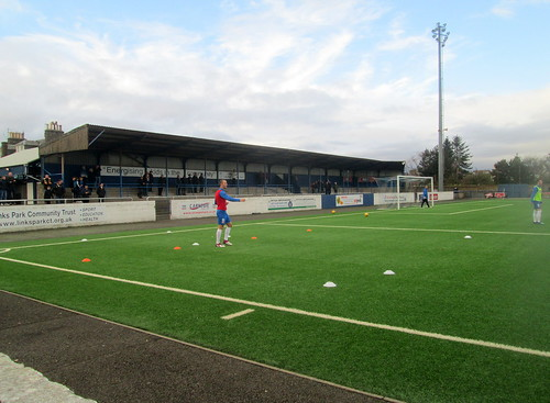 West Terracing, Links Park, Montrose