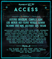 ACCESS event March  Line up