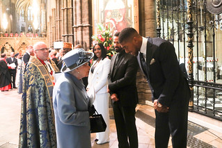 Her Majesty The Queen meets Anthony Joshua | by Commonwealth Secretariat