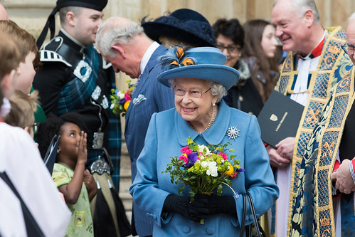 Her Majesty The Queen leaving Westminster Abbey | by Commonwealth Secretariat