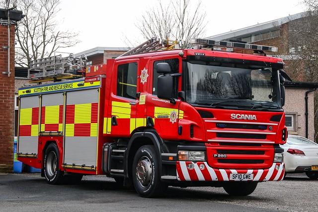Scottish Fire & Rescue Service P13A3/SF10 GWE