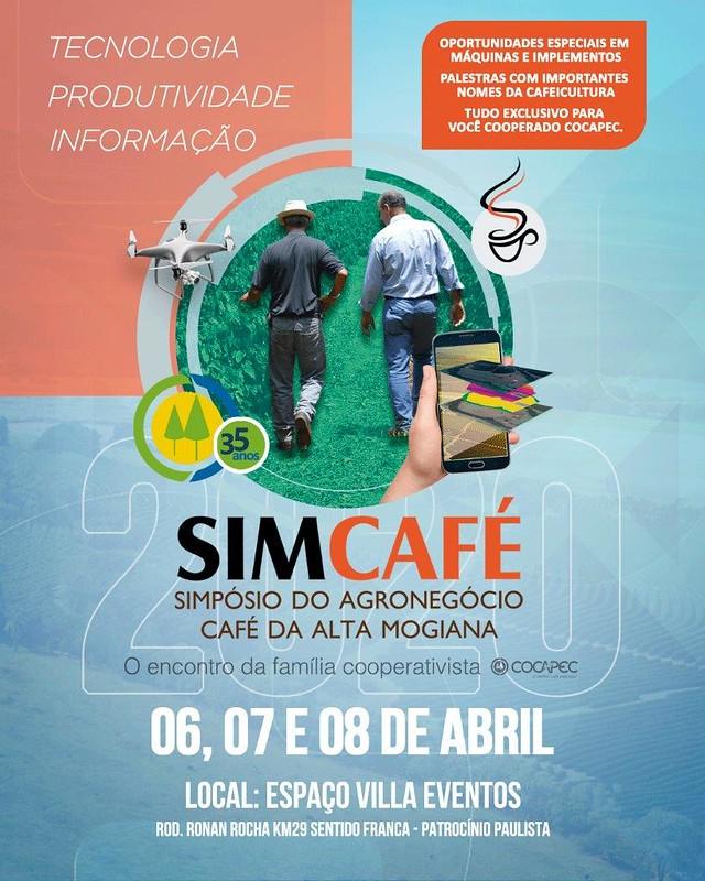 Simcafé acontece em abril e promete surpreender cafeicultores da Alta Mogiana