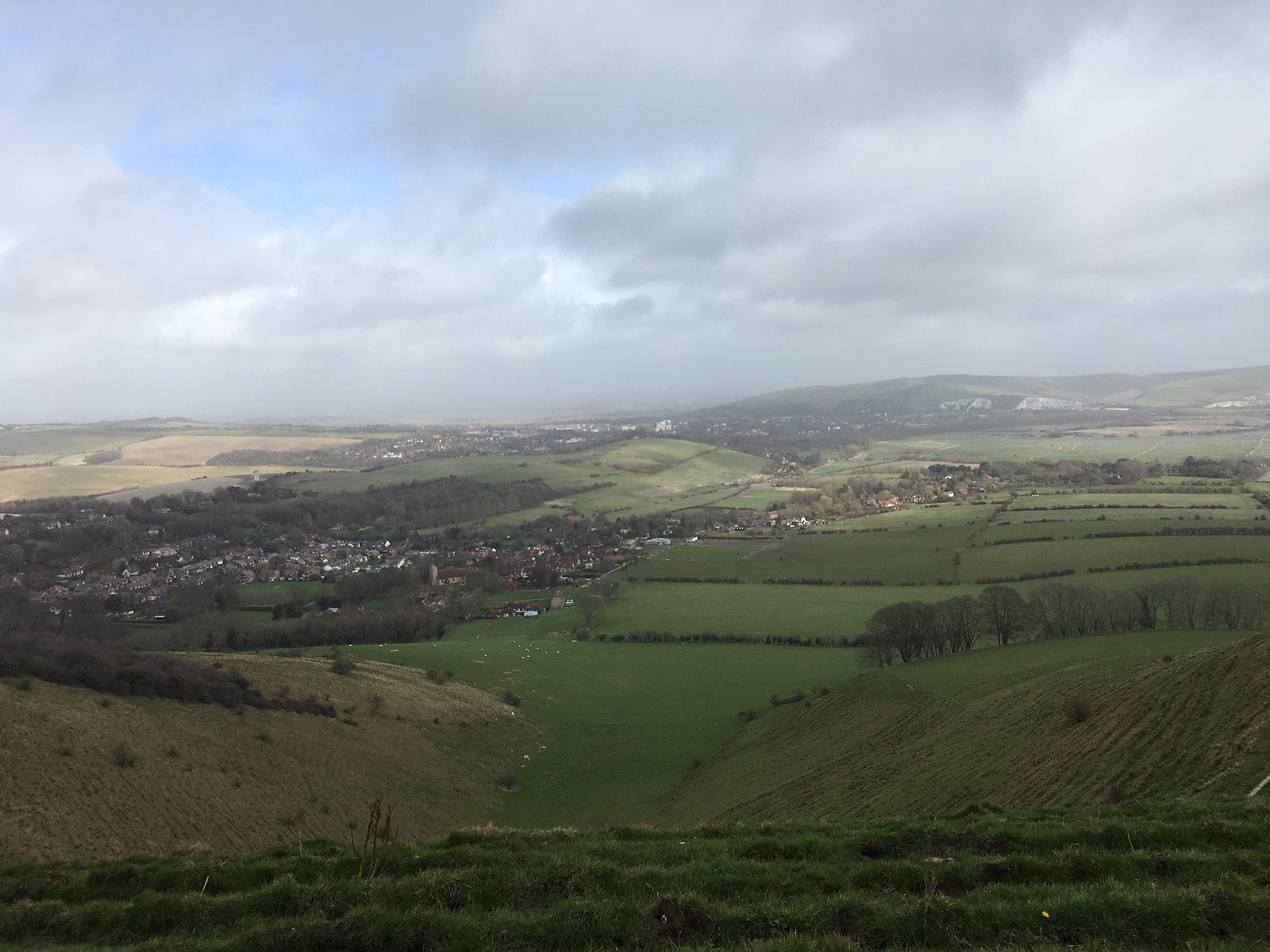 Above Lewes Lewes to Saltdean