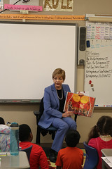 Rep. Zawistowski celebrated Read Across America with students at R. Dudley Seymour School in East Granby.