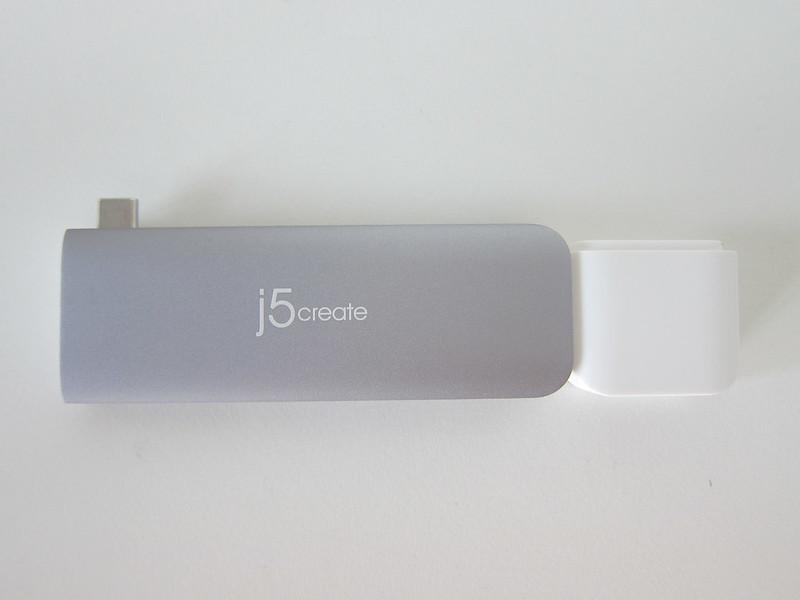 j5create UltraDrive Kit USB-C Multi-Display Modular Dock (JCD389) - Kit At The Bottom- Top
