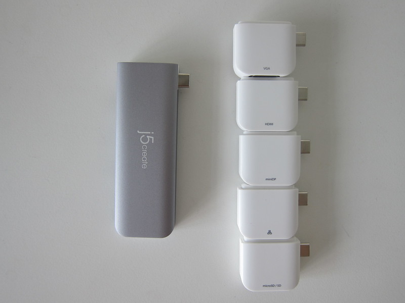 j5create UltraDrive Kit USB-C Multi-Display Modular Dock (JCD389) - With 5 Kits