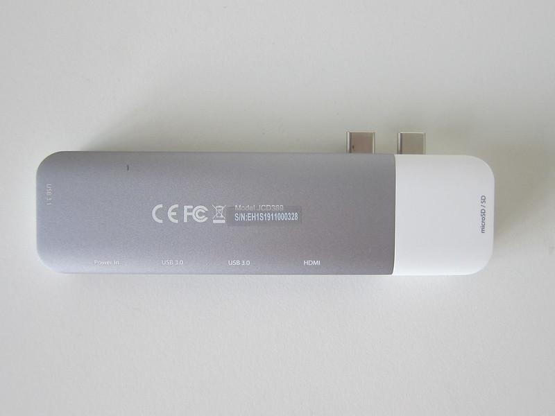 j5create UltraDrive Kit USB-C Multi-Display Modular Dock (JCD389) - With Kit - Bottom