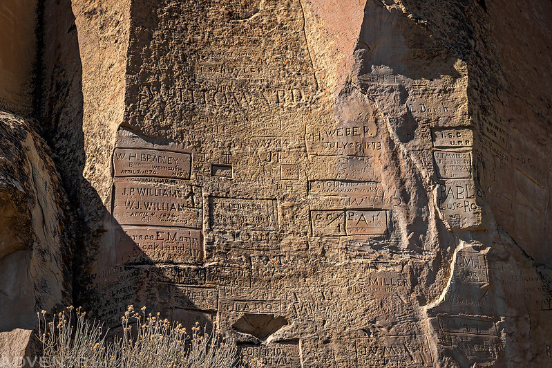 Inscriptions on the Point