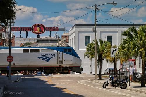 Amtrak 91 Departing Tampa