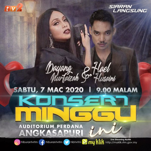 poster KMI Dayang dan Hael