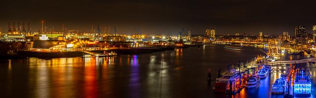 Hamburger Hafen.