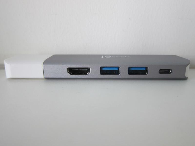 j5create UltraDrive Kit USB-C Multi-Display Modular Dock (JCD389) - With Kit - Front