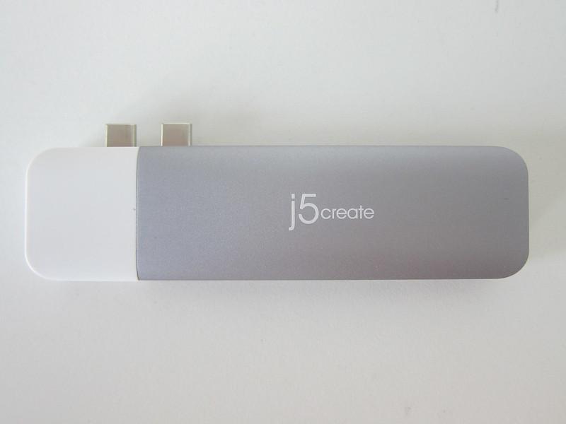 j5create UltraDrive Kit USB-C Multi-Display Modular Dock (JCD389) - With Kit - Top