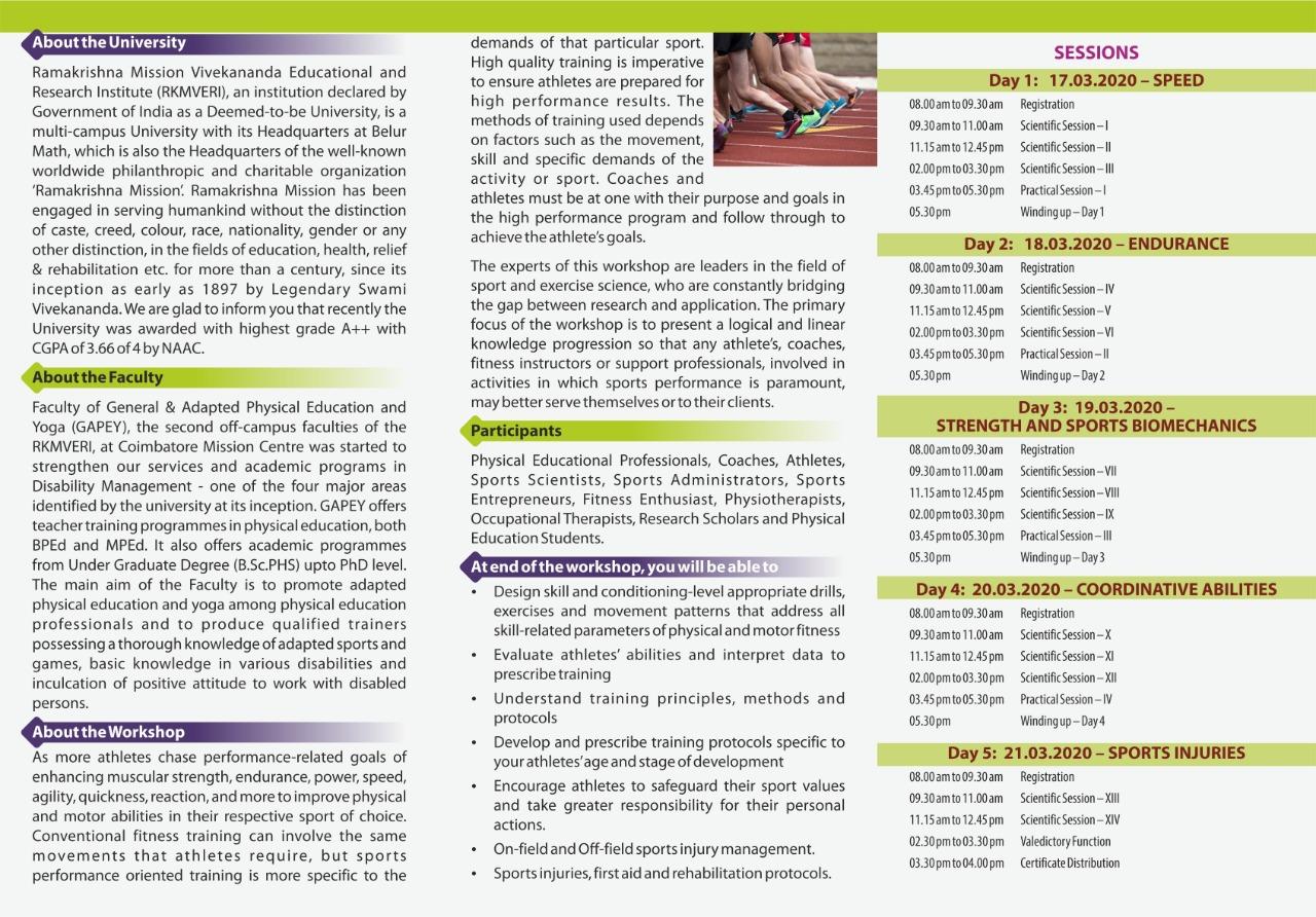 Brochure Back Page