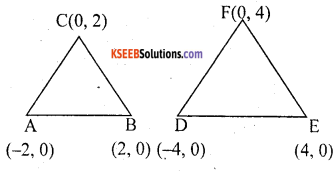 KSEEB Solutions for Class 10 Maths Chapter 7 Coordinate Geometry Additional Questions 35