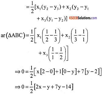 KSEEB Solutions for Class 10 Maths Chapter 7 Coordinate Geometry Additional Questions 29