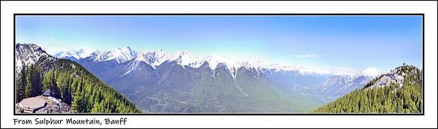 Sulphur Mountain Panorama