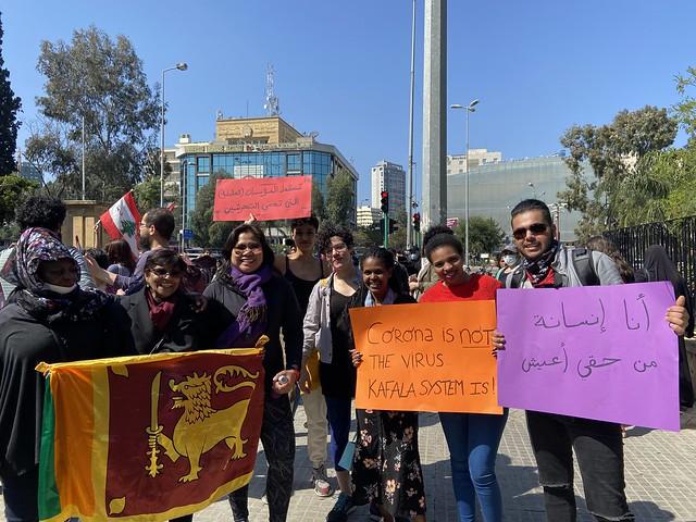 2020-3-8 Lebanon: IWD - abolishment of the Kafala/sponsorship system