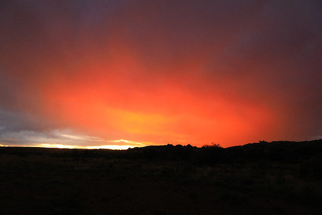 Sunset - Tiger Canyon