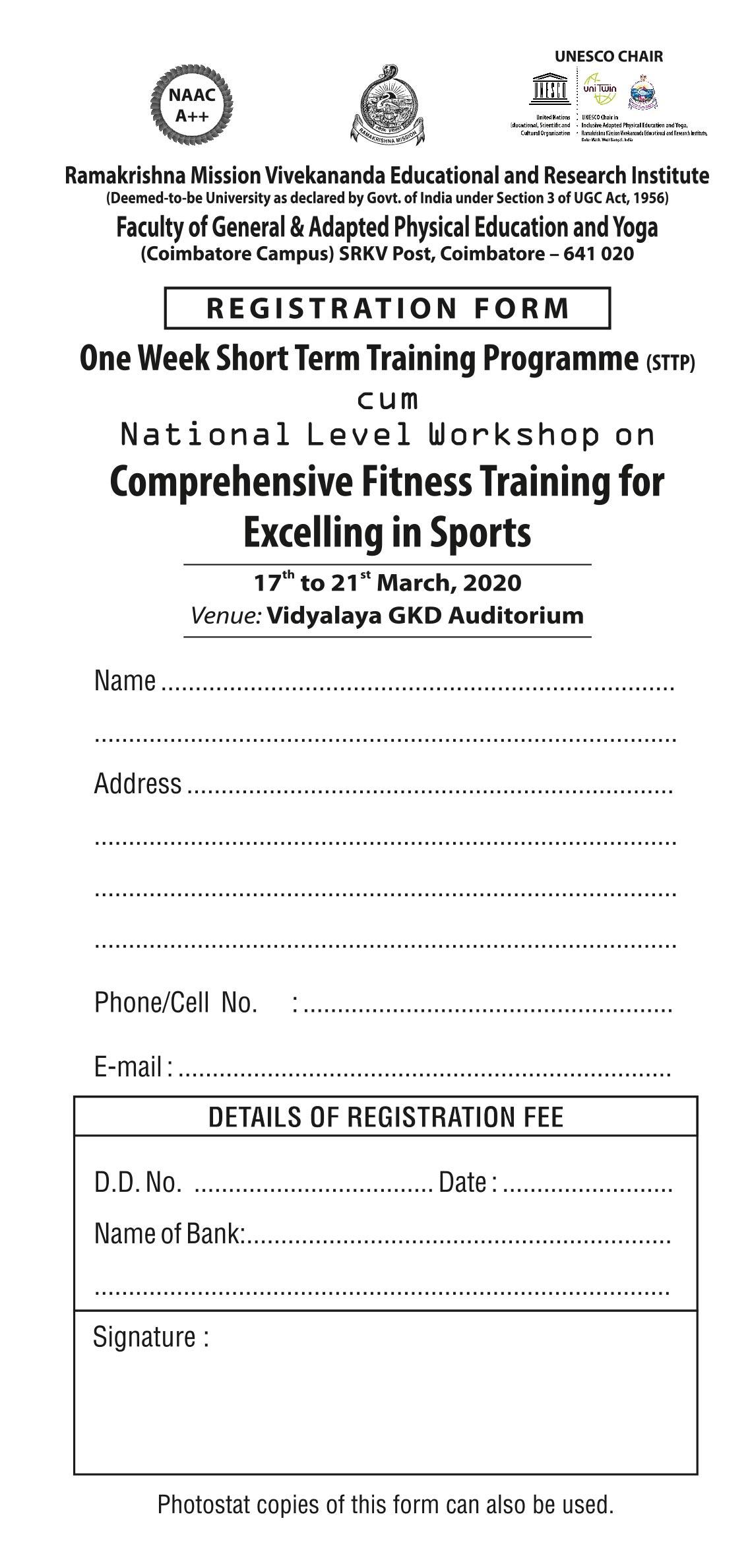Registration Form only - 14-2-2020.cdr