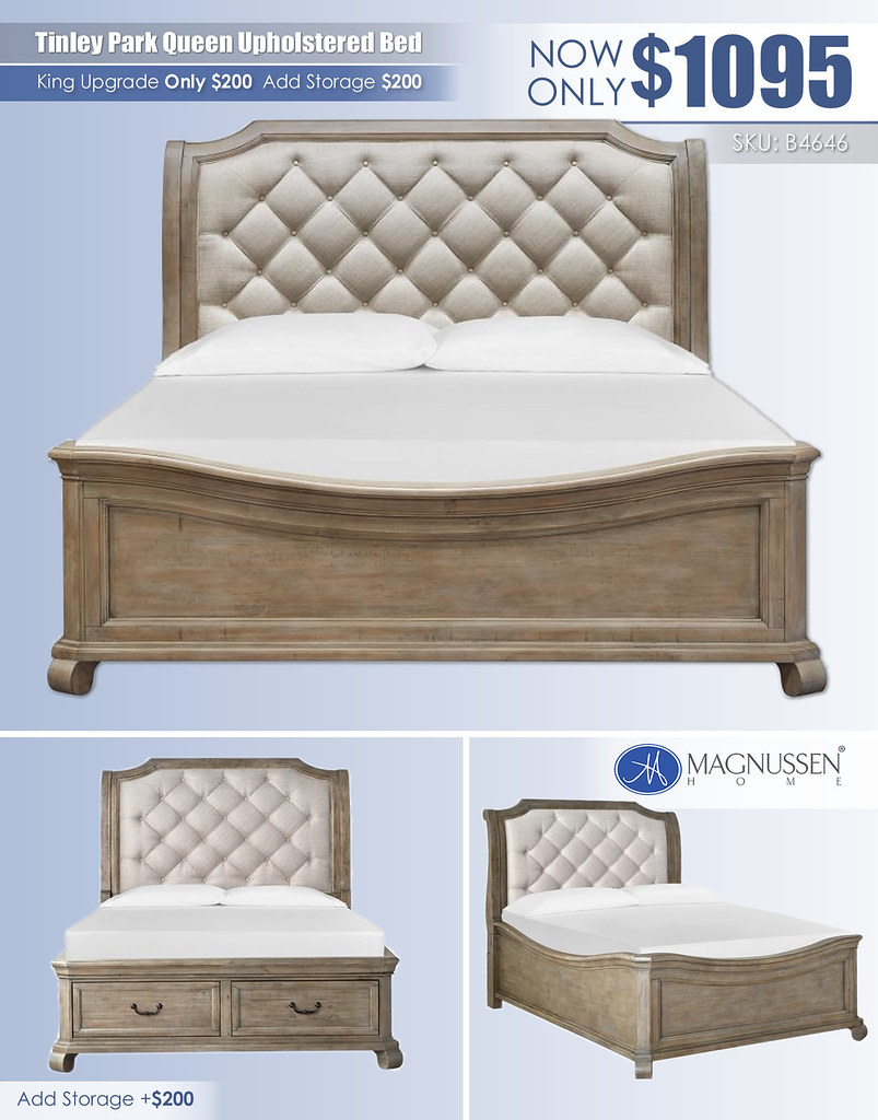 Tinley Queen Upholstered Bed_B4646