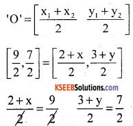 KSEEB Solutions for Class 10 Maths Chapter 7 Coordinate Geometry Additional Questions 28