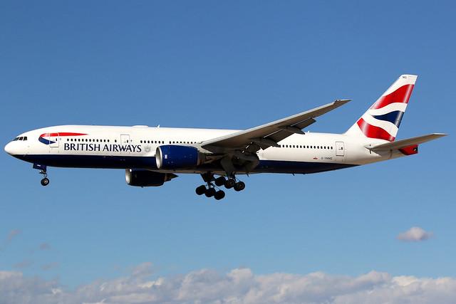 British Airways | Boeing 777-200ER | G-YMMD | Las Vegas McCarran