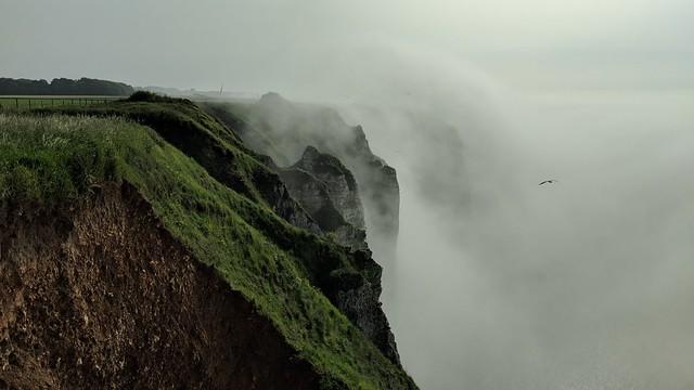 Fog at Etretat