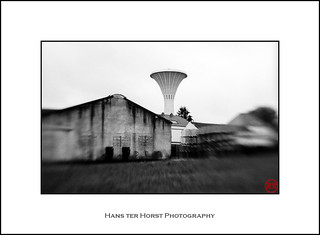 Lensbabies 2.0: Water tower of Capellen | by Hans ter Horst Photography