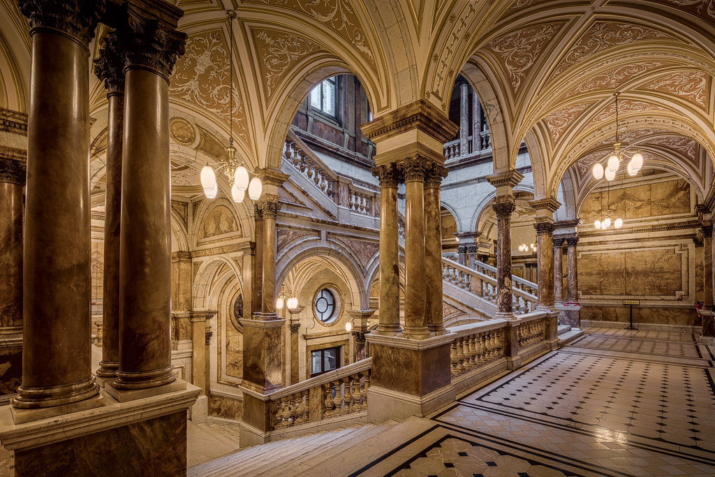 Glasgow City Chambers Staircase