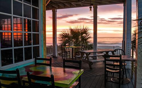 sunrise southcarolina surfside nature sunset rivercitycafe beach