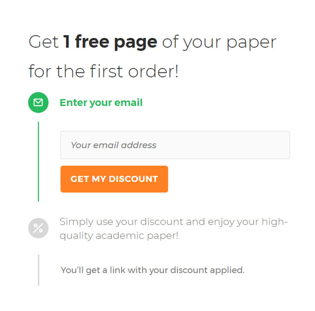 Getting one free page at Customwritings