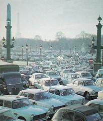Postcard Place de la Concorde Paris 8ème 1968a