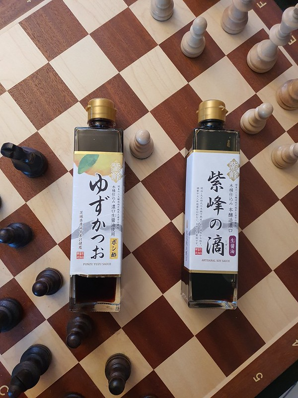 Soy and ponzu sauce