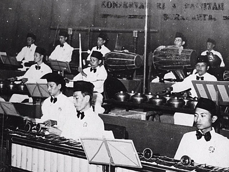 Konser lulusan pertama Konservatori Karawitan Indonesia pada 1953 di Jakarta
