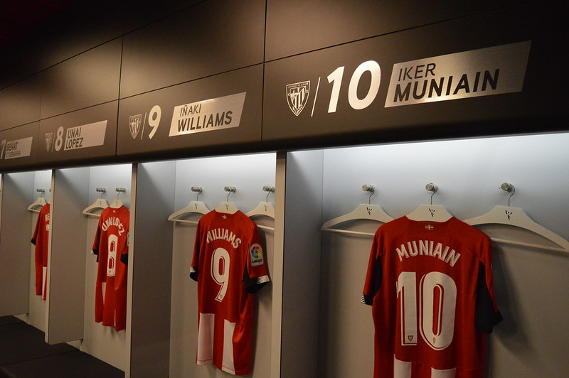 Day 3 | Athletic Bilbao's dressing room