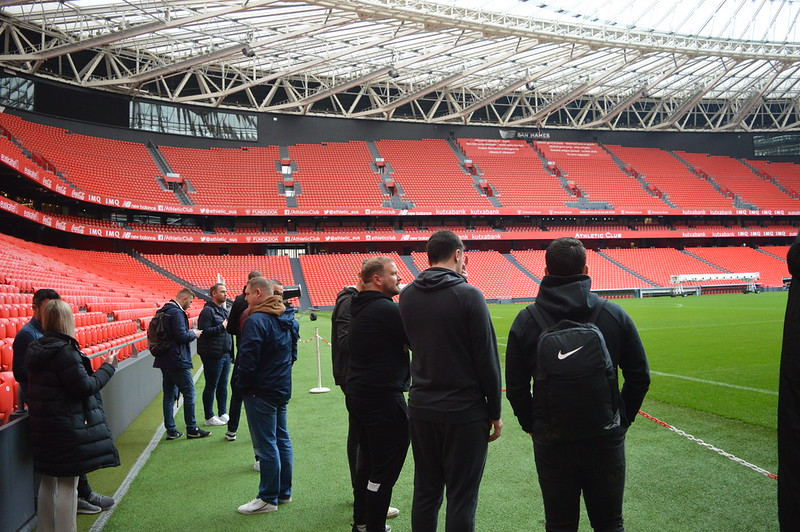 Day 3 | The Coaches experience a guided tour of the San Mamés Stadium 1