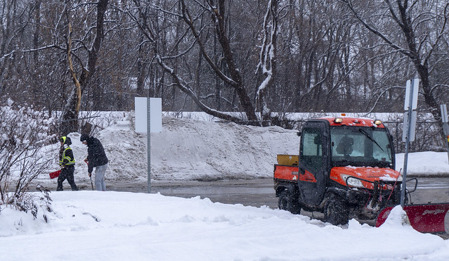 Snow Removal sometimes includes handwork :-(