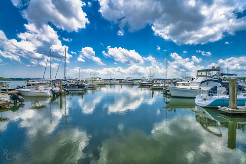 a7rii alpha beaufort emount ilce7rm2 sc safeharbor sony south southcarolina bluesky boats clouds fullframe harbor landscape lowcountry marina mirrorless reflection sky water