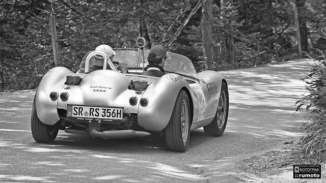 1962 Porsche 718 RS Bergspyder Ennstal Classic © Bernard Egger :: rumoto images 5550 bw