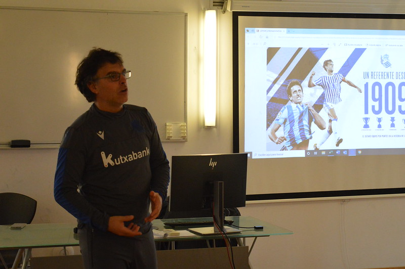 Day 4 | Real Sociedad Head of Academy Luki Iriarte leads an open forum 3