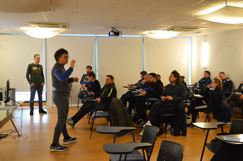 Day 4 | Real Sociedad Head of Academy Luki Iriarte leads an open forum 2