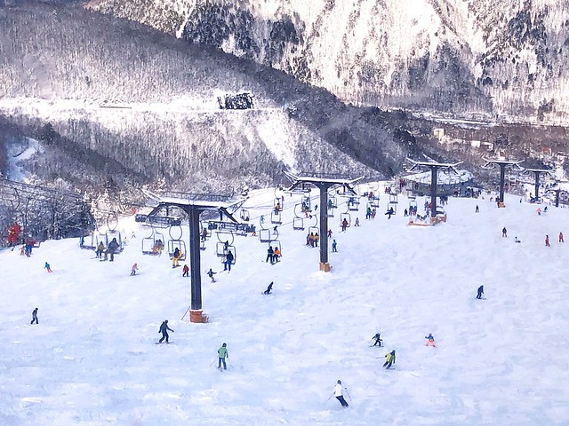 Hakuba in winter 白馬