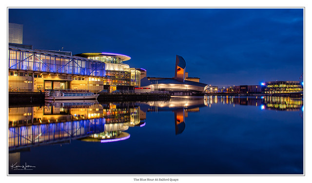 The Blue Hour at the Quays