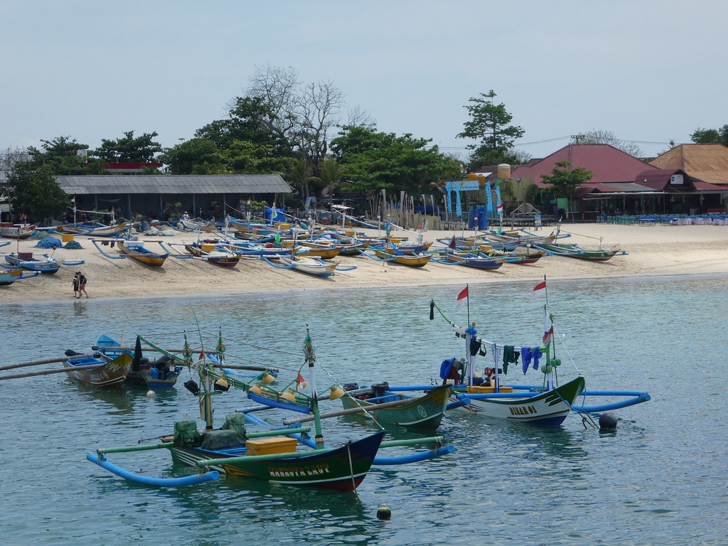 Fishing boats, Jimbaran, Bali