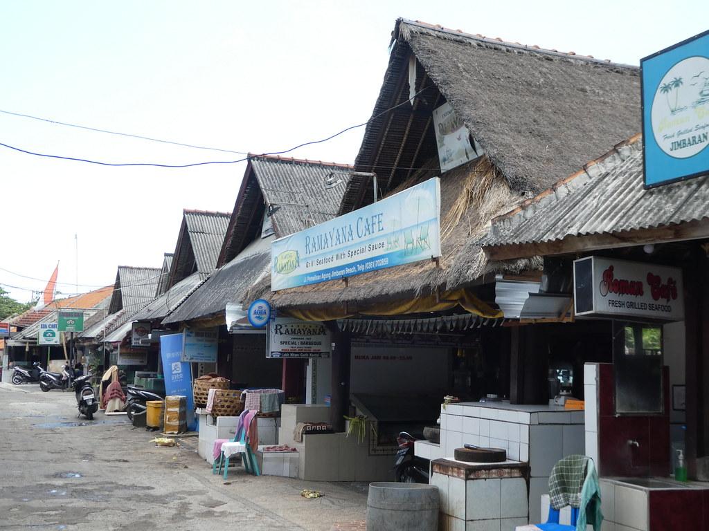 Jimbaran village centre, Bali