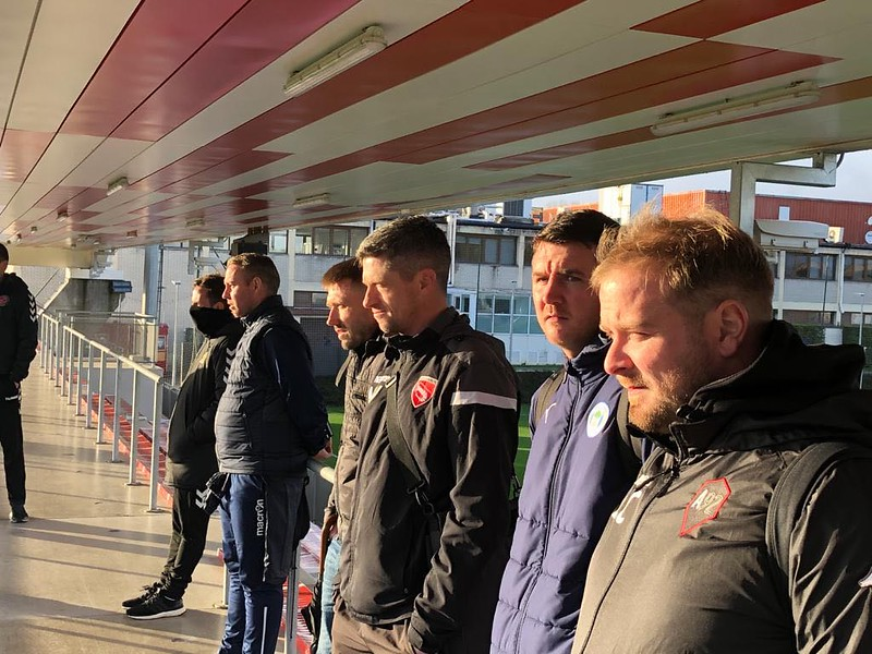 Day 1 | Coaches watch Athletic Bilbao first and second team training 1
