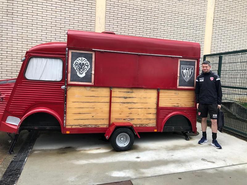 Day 1 | Neil Wainwright at Athletic Bilbao