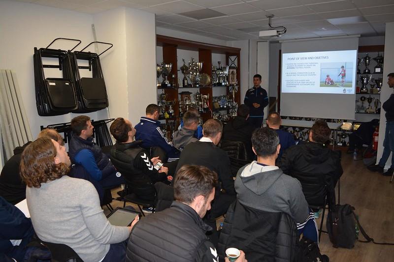 Day 2 | Danok Bat CF Coach Julen Santisteban delivers a talk 1